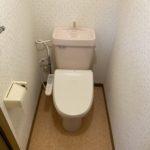 トイレです。温水洗浄便座付♪(内装)